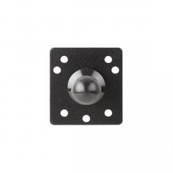 Fixation de support pour tablette - Plaque carrée à la norme AMPs avec joint sphérique 20 mm