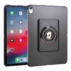 Coque simple compatible iPad Pro 11 - The Joy Factory - Noir - MMA700