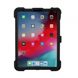 Ultra-slim, water-resistant rugged mountable case for iPad Pro 11