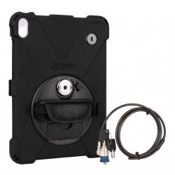 Protection Renforcée Sécurisée Compatible iPad Pro 11 - The Joy Factory - avec Dragonne - Norme IP64 - Noir - CWA723KL