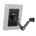Support fixation murale à double bras avec module adhésif 3M pour tablettes