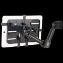 Support fixation murale à double bras - Tablettes fines 7-11 pouces