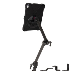 Support fixation rail AUTO + Protection renforcée iPad Pro 11