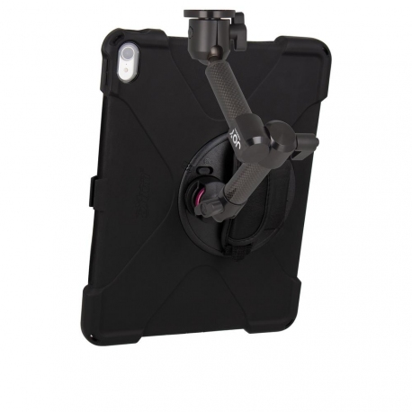 Support fixation murale à double bras + Protection renforcée iPad Pro 12.9