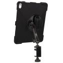 Support fixation étau sur tube à bras unique + Protection renforcée iPad Pro 12.9 (2019)