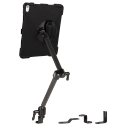 Support fixation rail AUTO + Protection renforcée iPad Pro 12.9