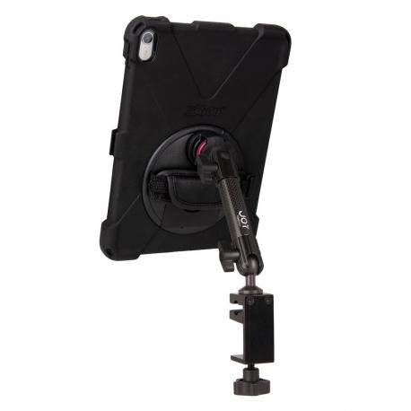 Support fixation étau sur tube à bras unique + Protection renforcée iPad Pro 12.9