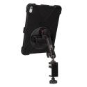 Support fixation étau sur tube à bras unique + Protection renforcée iPad Pro 11 (2018)