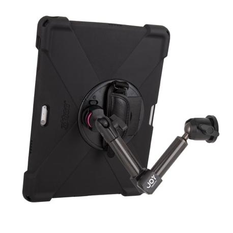 Support fixation murale à double bras + Protection renforcée iPad Pro 11