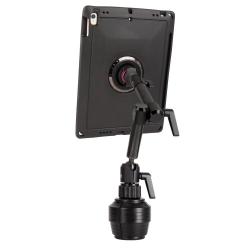 Support fixation porte gobelet AUTO 2e génération + Coque renforcée iPad Air 3 et iPad Pro 10.5