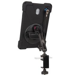 Support sécurisé fixation étau sur tube à bras unique - Galaxy Tab A 10.5