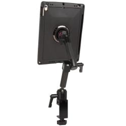 Support Tablette Fixation Etau à 2 Bras Courts - iPad Air 3 et iPad Pro 10.5