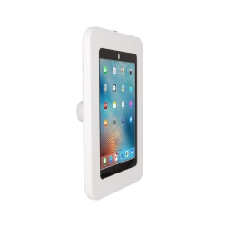 Support Sécurisé Stand Mural Compatible iPad 10.2 - The Joy Factory - Blanc - KAA114W