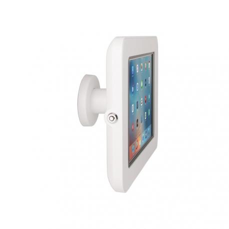 Support Sécurisé Stand Mural Compatible iPad 10.2 - The Joy Factory - Blanc - KAA114W
