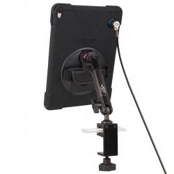 Support sécurisé fixation étau sur tube à bras unique + Protection renforcée iPad Pro 11