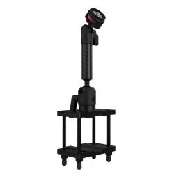 Support Chariot Elévateur fixation sur poteau (largeur max 7.6cm)