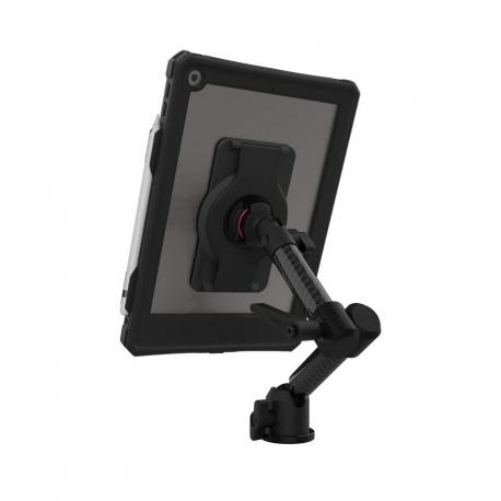 Support fixation murale à double bras + Protection étanche iPad 10.2