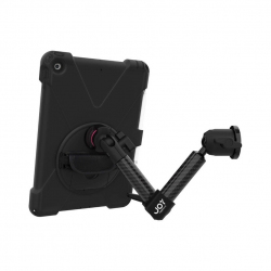 Support fixation murale à double bras + Protection renforcée iPad 10.2