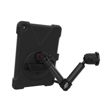 Support fixation murale à double bras + Protection renforcée iPad 10.2