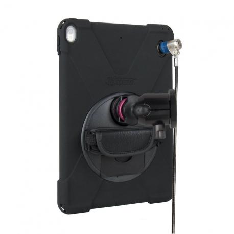 Mini support fixation murale + Protection renforcée sécurisée iPad Air 3 et iPad Pro 10.5
