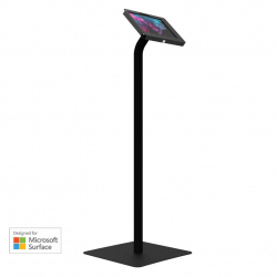 Elevate II Floor Stand Kiosk for Surface Go | Go 2 (Black)