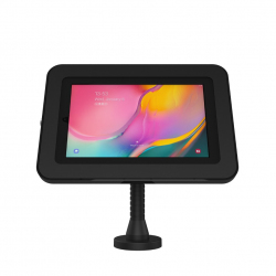 Support stand mural ou comptoir à bras flexible - Galaxy Tab A 10.1 (2019) - Noir