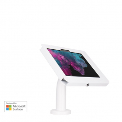 Elevate II Wall | Countertop Mount Kiosk for Surface Go | Go 2 (White)