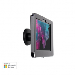 Elevate II On-Wall Mount Kiosk for Surface Go | Go 2 (Black)