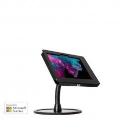 Elevate II Flex Countertop Kiosk for Surface Go | Go 2 (Black)