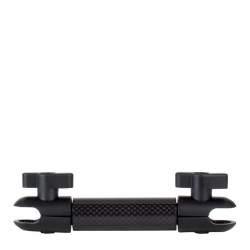 Bras unique court pour rotule de fixation 20mm à deux embouts
