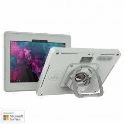 Coque de protection étanche revêtement anti-microbien avec prolongateur de portée NFC - Surface Go